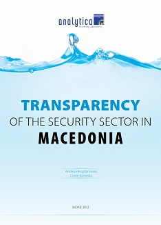 Transparency of the Security Sector in Macedonia
