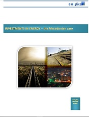Investments in Energy – The Macedonian Case