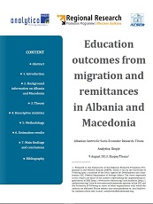 Education Outcomes from Migration and Remittances in Albania and Macedonia