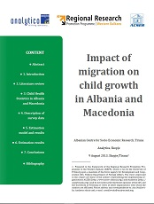 Impact of Migration on Child Growth in Albania and Macedonia