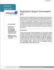 Regulatory Impact Assessment (2) Cover Image