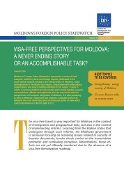 Visa-free Perspectives for Moldova: A never ending Story or an Accomplishable Task? Cover Image