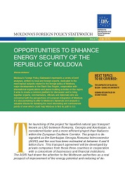 Opportunities to enhance Energy Security of the Republic of Moldova