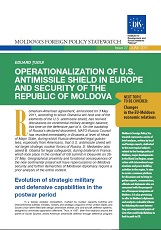 Operationalization of U.S. Antimissile Shield in Europe and Security of the Republic of Moldova