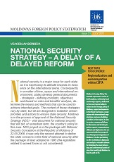 National Security Strategy – A Delay of a delayed Reform