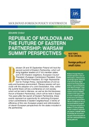 Republic of Moldova and the Future of Eastern Partnership: Warsaw Summit Perspectives