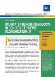 The Immunity of the Republic of Moldova in the Context of EU Financial Crisis