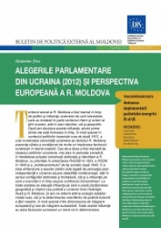 Parliamentary Elections in Ukraine (2012) and the European Integration Prospects of the Republic of Moldova