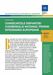 The Consequences of the Disappearance of National Consensus on European Integration