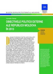 The Republic of Moldova Foreign Policy Objectives in 2013
