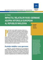 Russian-German Relations Impact on the Republic of Moldova European future
