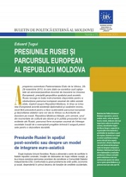 Russia's Pressures and the European Course of the Republic of Moldova
