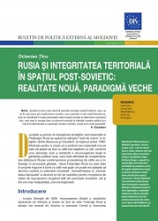 Russia and the Territorial Integrity in the Post-Soviet: New Reality, Old Paradigm