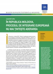 The Republic of Moldova's European Integration Process - No Longer Targets Adherence