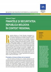 Finance and Security: The Republic of Moldova in the Regional Context