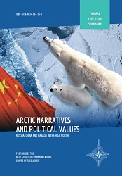 ARCTIC NARRATIVES AND POLITICAL VALUE – CHINA