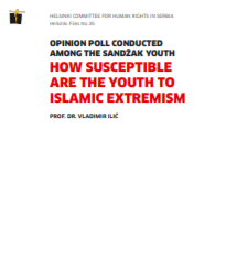 HELSINKI FILES: Opinion poll conducted among the Sandžak youth - How Susceptible are the Youth to Islamic Extremism Cover Image