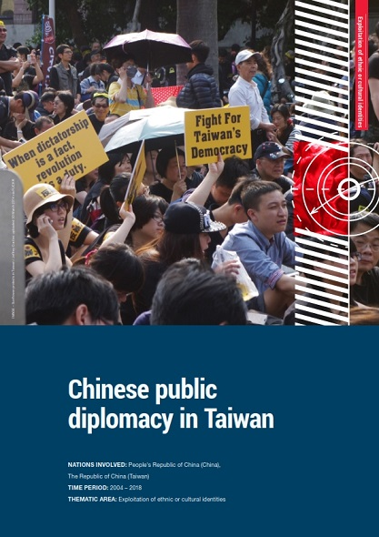EXECUTIVE SUMMARY. CHINESE PUBLIC DIPLOMACY IN TAIWAN Cover Image