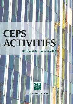 CEPS Activities. Review 2012 – Preview 2013