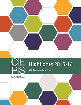 Centre for European Policy Studies. Highlights 2015-16