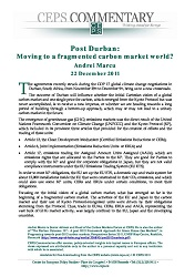 Post Durban: Moving to a fragmented carbon market world?