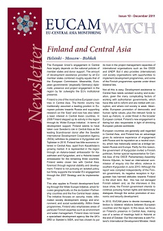 Finland and Central Asia Cover Image