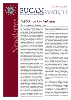 NATO and Central Asia Cover Image