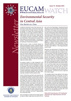 Environmental Security in Central Asia