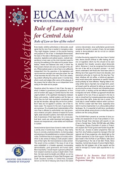 Rule of Law support for Central Asia Cover Image