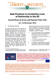 #73 Best Practices in Involuntary Loss of Nationality in the EU