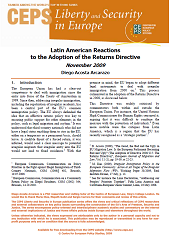 Latin American Reactions to the Adoption of the Returns Directive