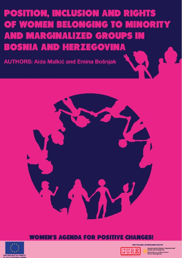 Position, Inclusion and Rights of women belonging to minority and marginalized groups in Bosnia and Herzegovina