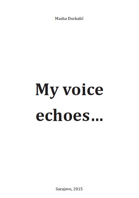 My Voice Echoes... Cover Image