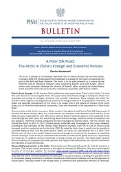 A Polar Silk Road: The Arctic in China's Foreign and Economic Policies Cover Image