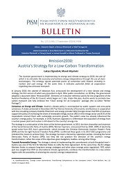 #mission2030: Austria's Strategy for a Low-Carbon Transformation