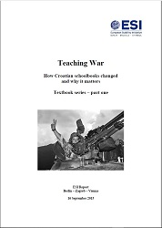 TEACHING WAR. How Croatian schoolbooks changed and why it matters. – Textbook series – part one