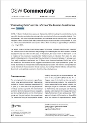 """Everlasting Putin"" and the reform of the Russian Constitution"