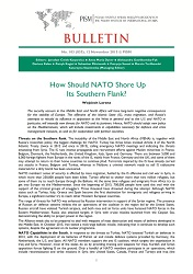How Should NATO Shore Up Its Southern Flank?