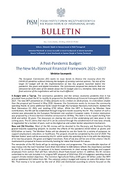 A Post-Pandemic Budget: The New Multiannual Financial Framework 2021–2027 Cover Image