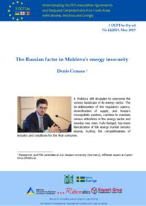 The Russian factor in Moldova's Energy Insecurity
