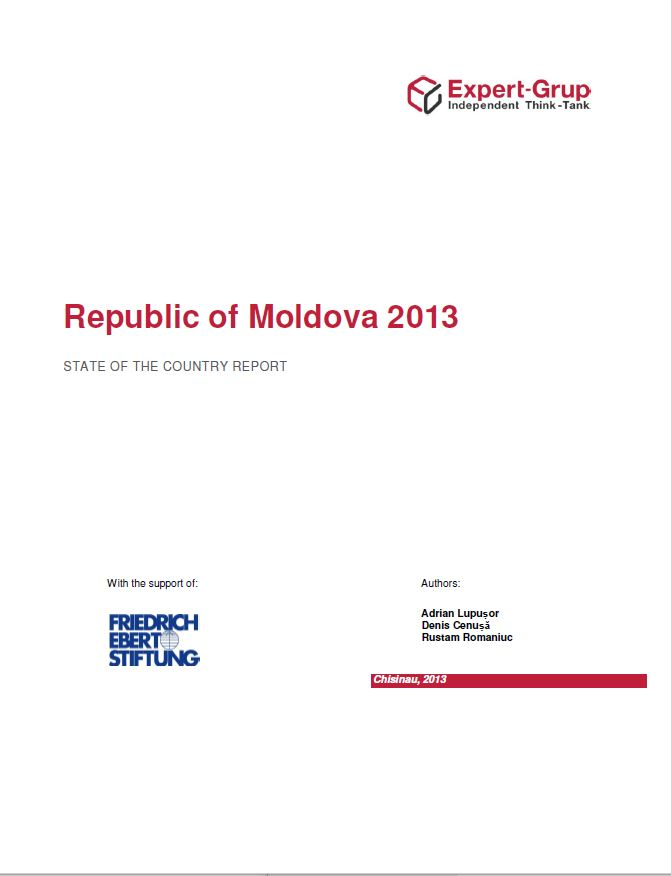State of the Country - REPUBLIC of MOLDOWA 2013