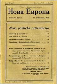 Political and economic review Cover Image