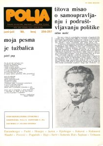 Poetics of young generation of Slovakian poets from Vojvodina Cover Image