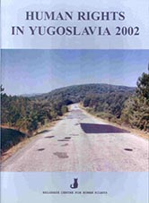 Human Rights in Yugoslavia 2002 Cover Image