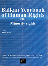 Report on the activities of the BHRN in 2003-2004 Cover Image