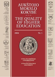 Quality of studies in higher education institution: philosophy and praxeology of management  Cover Image