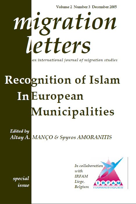 """Faiths and Social cohesion"" Establishing social participation with religious differences: local Muslim communities in Europe"