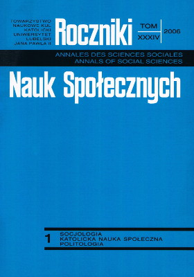 Polish youths' institutional authorities in sociological research of the last decade of the Polish People's Republic and after 1989 Cover Image