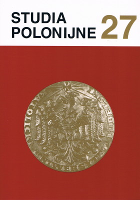 Polish Pastoral Care Abroad in the Policy of the Authorities for Religion in the Polish People's Republic Towards Polonia in the 1970s Cover Image