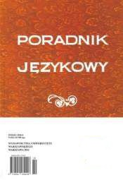On the Inherent Plural Number of the Fractional Numerals ĆWIERĆ 'quarter', PÓŁ 'half', and PÓŁTORA 'one and a half' Cover Image